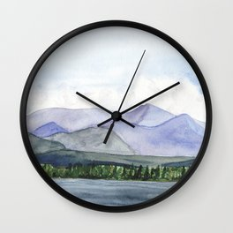 Mountain Ridge Wall Clock