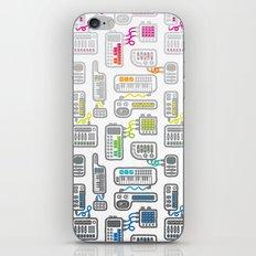 Electronica iPhone & iPod Skin