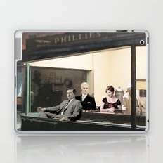 mad men characters are Hopper's Nighthawks Laptop & iPad Skin