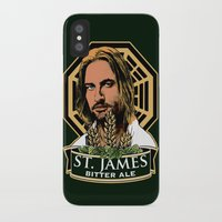 ale giorgini iPhone & iPod Cases featuring St. James Bitter Ale by Ant Atomic