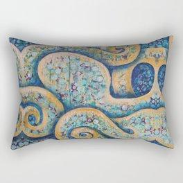The Intuitive Octopus Rectangular Pillow