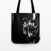 medicine Tote Bags featuring Medicine  by Kelly Baskin