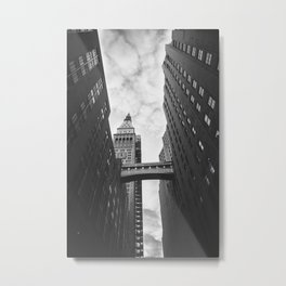 New York Clock Tower Metal Print