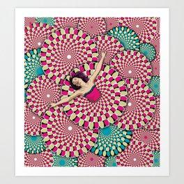 Pure Bliss - Illusion Series Art Print