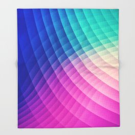 Abstract Colorful Art Pattern (LTBG - Low poly) - Texture aka. Spectrum Bomb! (Photoshop Colorpicker Throw Blanket