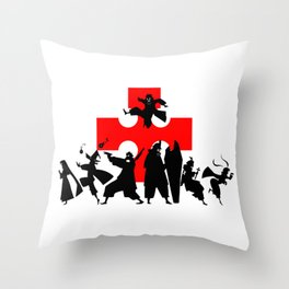 Fire Force First Anime Intro Image Throw Pillow