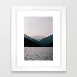 HALONG HILLS Framed Art Print