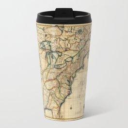 Map of North America (1777) Travel Mug