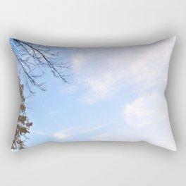 The Adirondacks: Misty October Morning Rectangular Pillow