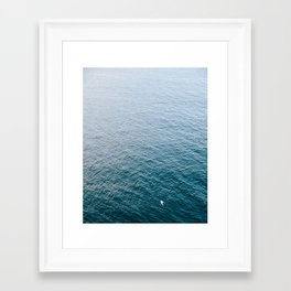 Serenity At Sea Framed Art Print