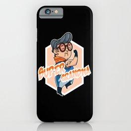 Grandma Great-grandma Grandmother Hero Superhero iPhone Case