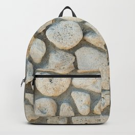 Pebble pattern Backpack