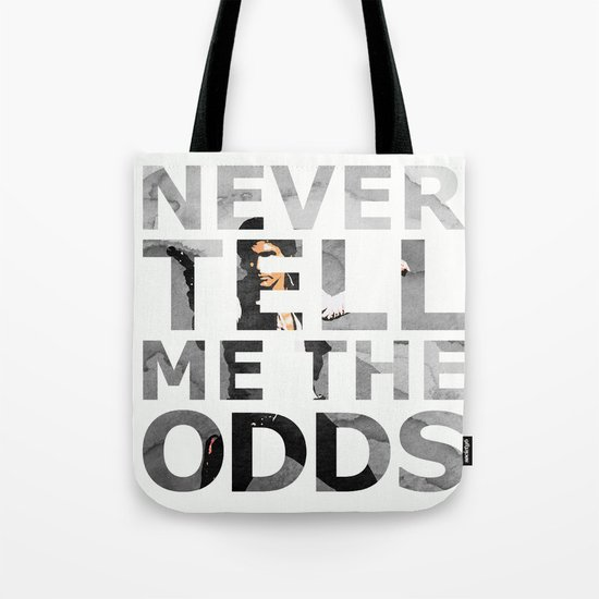 Star Wars Han Solo Quote Tote Bag