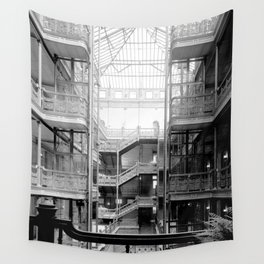 Bradbury Building, Downtown Los Angeles Wall Tapestry