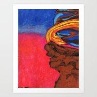 Planet In Mind Art Print