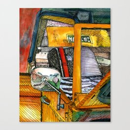 Show Thing Up Close Canvas Print