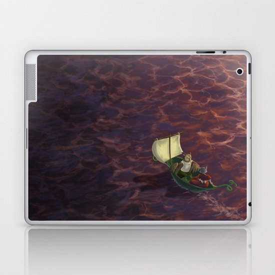 They Went To Sea Laptop & iPad Skin