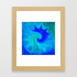 Abstract Mandala 260 Framed Art Print
