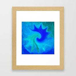 Abstract Mandala 260 Framed Art Print
