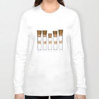 lab Long Sleeve T-shirts featuring Lab Vials by THEPALMER