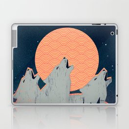Howling Moon Laptop & iPad Skin