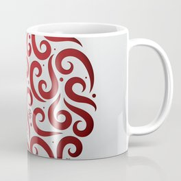 Decorative Christmas Ornament Pattern Coffee Mug