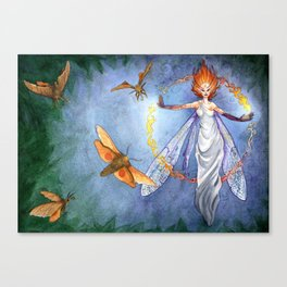 Will O' the Wisp Canvas Print