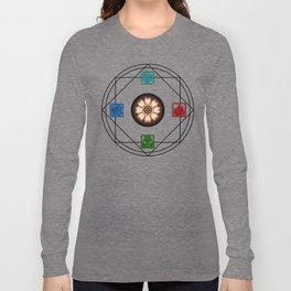 Elemental White Lotus - ATLAS Long Sleeve T-shirt