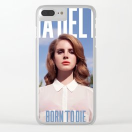 LANA DEL REYS Clear iPhone Case