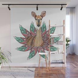 Deer Totem Wall Mural