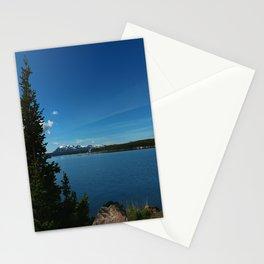 Yellowstone Lake View Stationery Cards