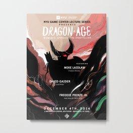 Dragon Age Metal Print