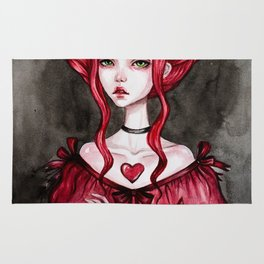 Queen of hearts Rug