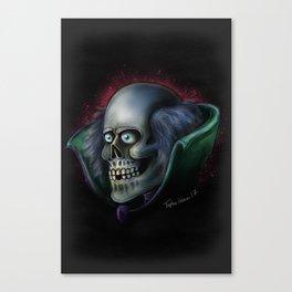 Mr Doom Sketch by Topher Adam 2017 Canvas Print