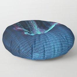 Virtual Reality Diver Floor Pillow