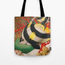 Australia, Great Barrier Reef, Vintage Travel Poster Tote Bag