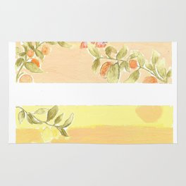 Sunrise Lovers Rug