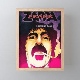 FRANK ZAPPA MIREL 7 Framed Mini Art Print