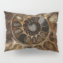 Earth treasures - Fossil in brown tones Pillow Sham