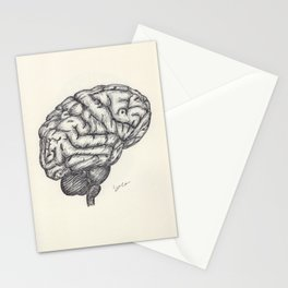 BALLPEN BRAIN 2 Stationery Cards
