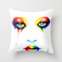 new order Throw Pillows featuring New Order by Isaiah K. Stephens