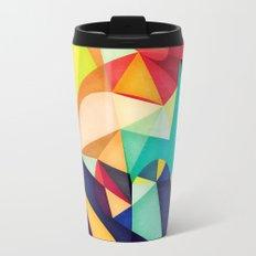 Poetry Geometry Travel Mug