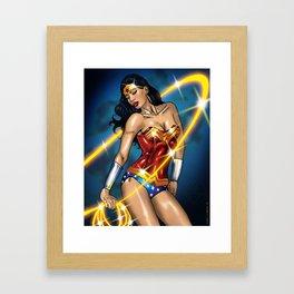 Diana Prince  Framed Art Print