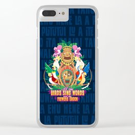 Tiki-Tastic Clear iPhone Case