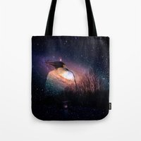 penguin Tote Bags featuring penguin by  Agostino Lo Coco