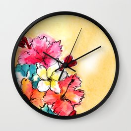 Hawaii Vibes Wall Clock