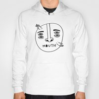 mouth Hoodies featuring Mouth by Erik Walker