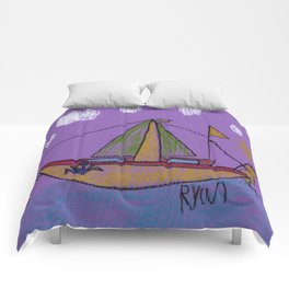 Day's End Sail Comforters