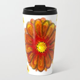 Inhale & Exhale Mandala Travel Mug