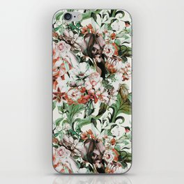 Exotic flowery abstract bouquet iPhone Skin